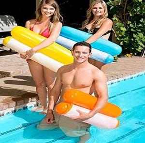 Aufblasbarer Pool Schwimmende Wasser Hängematte Float Lounger Schwimmende Bett Stuhl Swimming Pool Aufblasbare Hängematte Bett Pool Outdoor Faltbare Party Spielzeug