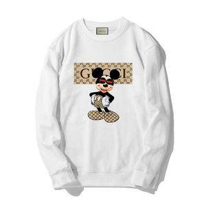 GUCCI Мужская толстовка Толстовка Мужчины Женщины свитер толстовка с длинным рукавом пуловер Марка толстовки Streetwear Мода Sweatershirt # 978321