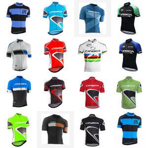 ORBEA Team Cycling Short Sleeves jersey 2020 Summer Mtb Bike Clothes Racing outdoor sportwear Quick dry C702-6
