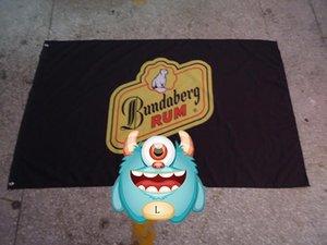 bandeira RUM Bundaberg, Bundaberg banner, 90 * 150CM polyster 100% poliéster 90 * 150 centímetros, Impressão Digital