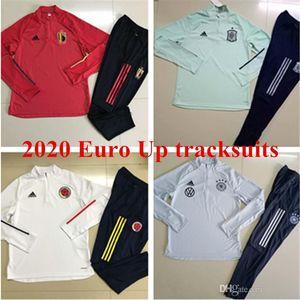 Кубок Евро 2020 ОПАСНОСТИ Бельгия Bale WALES куртка мужская Колумбия Испания костюмы трикотажные изделия футбола Аргентины Месси футбол подготовки рубашек S-3XL