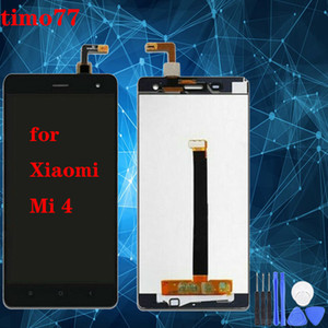 "Super Screen a cristalli liquidi di qualità per Xiaomi mi Hotel a 4 4c Display LCD Touch Screen Digitizer Assembly touch senza telaio di ricambio 5.0"" per Xiaomi Mi 4"
