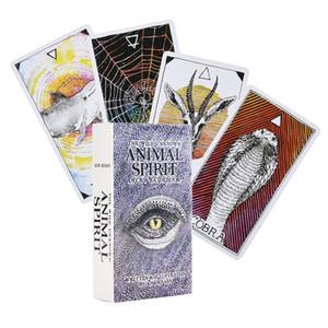 Desconocido salvajes del alcohol animal baraja de tarot Oracle Tarjetas Tarot Guía de lectura de la tarjeta Kim Krans adivinación