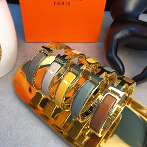 Couples enamel color bracelet jewelry women necklace rings earrings love bracelet mens 14k gold chains cuban link chain