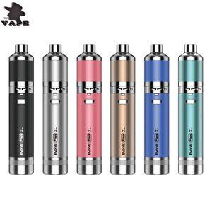 100% Authentic Yocan Evolve Plus XL Starter Kit 1400mAh Vape Wax Pen Battery Yocan Vape Dab Pen Kit DHL free