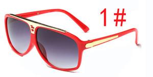 Toptan-güneş kadınlar UV400 güneş gözlükleri moda erkek sunglasse Sürüş Gözlük sürme rüzgar ayna Serin güneş gözlükleri ücr ...