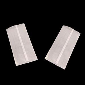 Commercio all'ingrosso Vuoto filtro Tè Food Grade Materiale di tè singolo sacchetti monouso Secco erbe profumate Bustine di tè Infuser Filtri a manica
