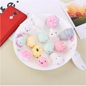 Squishy Slow Rising Jumbo Toy Kawaii Animals Squishy Cartoon Cute Soft Squeeze Stretchy Slow Rising Children cat Tiger Bear Toys Gift decora
