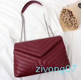 Luxury Classic Shape Borse V falde catena di borsa del progettista borsa a tracolla delle borse delle donne di alta qualità della frizione del messaggero del Tote Shopping borsa z07z