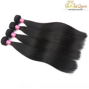 A Unprocessed Peruvian Straight Virgin Hair Weaves 4 Bundles Grade 8a Peruvian Straight Human Hair Extensions Peruvian Hair Weave Bundl