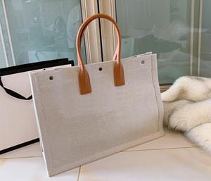 desenhador sacos de compras Totes sacos 2019 da marca de moda de luxo designer sacos impressos bolsas de lona bordados compras lote saco