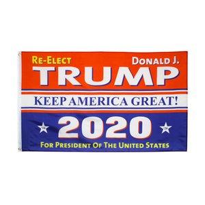 2020 Donald Trump Bandiere Keep America Grande Bandiera CA US Election 90x150cm stampa personalizzata Garden Flag Banner LJJA4055
