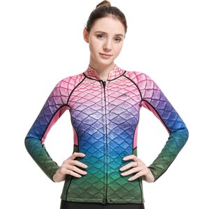 suit factory for custom bust straight long sleeve female diving suits, surfing cross-border for spot wholesale clothing