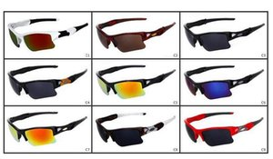 브랜드의 새로운 패션 남자의 자전거 유리 태양 안경 스포츠 고글 안경 운전 안경 선글라스 안경 9 색