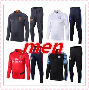 2019 2020 Liverpool Manchester City Manchester United Tottenham Chelsea arsenal mens Survêtement de football tracksuit kits 19 20 survêtement pour homme survetement football foot