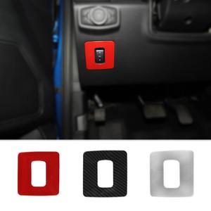 مسرع دواسة الفرامل تعديل الارتفاع تريم الديكور الغلاف يصلح لفورد F150 2015+ عالية الجودة زينة الداخلية السيارات