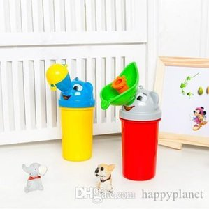 2019 Boys Girls Portable Cartoon Kid Children Urinal Car Travel Bucket Toilet Potty Training Pee Camping Urine Bottles Unisex