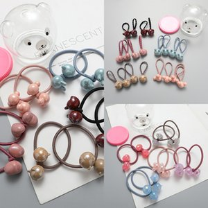 Children's small accessories girls ponytail all-match Rubber band rope rubber band hair rope hair ring baby's hair-free headdress