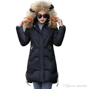 New Fashion Designer Women Winter Cotton-padded down Jacket Casual Parka keep Warm Coats Overcoat luxury female medium-length clothes