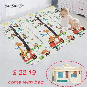 Baby Play Mat Waterproof XPE Soft Floor Playmat Foldable Crawling Carpet Kid Game Activity Rug Folding Blanket Educational Toys CX200615