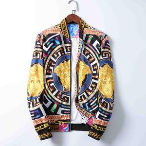 2020.AutumnWinter new luxury designer long sleeve Medusa men's windbreaker men casual jacket M-XXXL