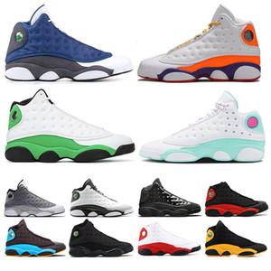 Nike Air Jordan Retro 13  moda Pharrell Williams Mc Tie Dye Pacchetto solare Madre designer Chaussures stella d'oro mens Scarpe sportive