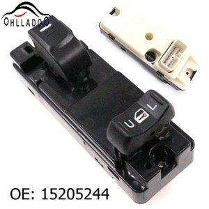 HLLADO New Front Right Window Lifter Switch 15205244 Power Window Switch For C hevrolet Colorado G M C Canyon H3 i-370 i-350
