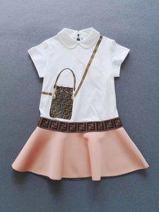 yüksek kalite yaz elbise kız moda Prenses elbiseler çocuk rahat okul giyim giysi kısa çocuklar Sundress