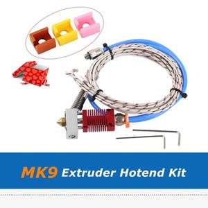 1PC MK9 الطارد Hotend بودين 24V 50W الطباعة رئيس فوهة 0.4MM مع قطع الطابعة سيليكون سوك لاندر-3 3PRO CR-10S 3D