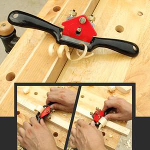9inch ajustável Planer Mão Metal Blade Cut Borda Planer Screw Falou Shave Wood Working Ferramenta de Mão Craft Planers pode empurrar ou puxar