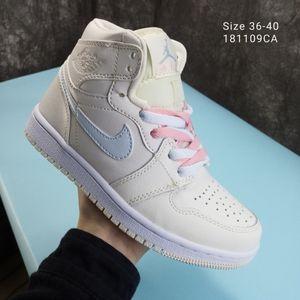 2020 Air Shoes NakeskinJordanAJ1Aj1Sneakers Men Women Fly Basketball Sneakers Chaussures Shattered Back Shoes 36-45