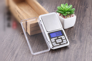 Mini Electronic Digital Scale Diamond Jewelry weigh Scale Balance Pocket Gram LCD Display Scales With Box 500g 0.1g 200g 0.01g 100g 0.01g
