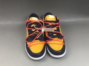 Top qualité Sb Université dunk Low Pin vert d'or de planche à roulettes Futura Offs Chaussures de course Mca Orange Bleu CT0856 Mens Designer Sneakers 11