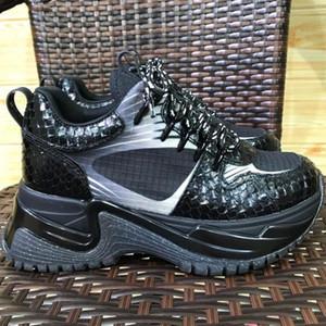 Hot Run Away Sapatilhas De Pulso Dos Homens De Luxo Triplo-s Designer Sapatilha Dos Homens Flatform Shoes Formadores Das Mulheres Casuais Tênis Ao Ar Livre Sapatos com Caixa
