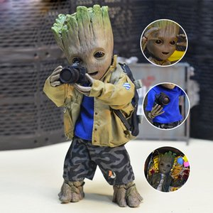 Anime Hero Groot Role Play Miniature Model Crafts Gifts For Friend All-match Baby Tree Sculpture Home Decoration Accessories