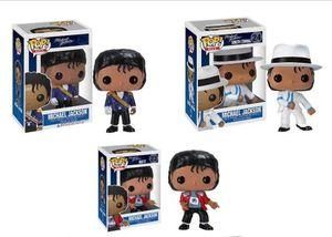 Funko pop Beat It Billie Jean BAD MICHAEL JACKSON Action Figure Collectible Toy Modelo para chlidren Presente de Natal