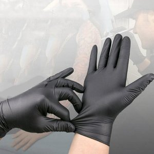 500pcs Disposable Gloves Protective Nitrile Gloves Factory Salon Household Rubber Garden Gloves Universal for Left and Right Hand LX2326