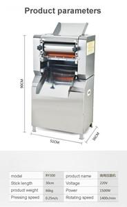 máquina de fideos comercial de acero inoxidable máquina de pasta eléctrica auto grande de fideos cocidos que hace la máquina pequeña Food Machinery