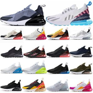 Free Shipping Women Men running shoes Chaussures Summer Gradients Triple Black White Volt Orange Mens Trainers cushion Sport Sneakers 36-45