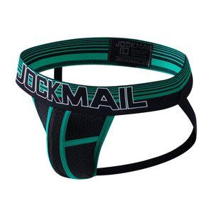 jockmail atractiva marca cadena de los hombres jockstrap tanga para hombre gay de la ropa interior de la ropa interior heren gay bragas tenu atractiva erotique malla