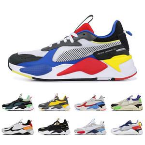 Puma novos brinquedos RS-X Reinvenção dos homens Calçados casuais Troféu Triplo Preto Bumblebee fúcsia roxo Homens Mulheres Tracks instrutor de esportes Sneakers 36-45