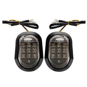 9 Led Turn Signal Lamp Yellow Motorbike Indicator Piranha Flasher For Honda Kawasaki Bmw