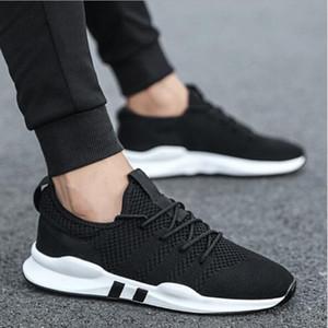 Moda Hombres VIERUODIS otoño del resorte de los zapatos ocasionales de los zapatos con cordones de las zapatillas de deporte para hombre transpirable Formadores Zapatillas Hombre zapatillas de deporte de los hombres