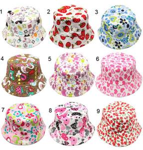 30-heißen Verkauf der Farbe Kinder Blumesun Bucket Hat Elegante Sonnenschein Lässige Männer und Frauen Kinder Schlapphut