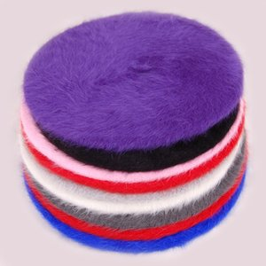 Coelho clássico artista Winter Fashion Beret Cap Novo Mulheres Beret Hat Elegante Painter Newsboy Chapéus Feminino
