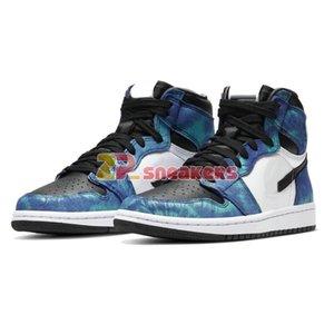 jumpman 1 Alto OG mens WMNS anudado CD0461-100 zapatos de baloncesto de los niños con caja de venta US4-12 envío libre del tamaño