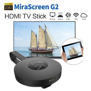 MiraScreen G2 Wireless HDMI Dongle Wifi Stick de TV 2.4G 1080P HD Display receptor Chromecast Miracast para iOS Android PC TV