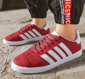 High Quality 2020 Men Women low sport shoes superstar gazelle Trainer Chukka Lightweight Breathable Walking Hiking Smith Stan Shoes Size 36-