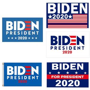 90 * 150cm Donald Biden Bandeira de América Presidente Eleição bandeira Biden 2020 Exquisite bandeira adesivo de carro Publicidade Adesivos Hha327 # 867