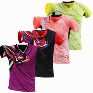 Formazione professionale gioco di squadra 2020 camicia veloce asciutta Badminton Uomini / Donne, Campi da t-shirt, camicia di golf sport, pingpong t-shirt